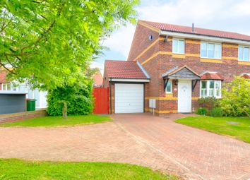 Thumbnail 3 bed semi-detached house for sale in Gray Close, Hawkinge, Folkestone