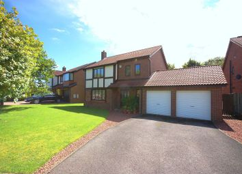 Thumbnail 4 bedroom detached house for sale in Berkeley Close, Killingworth, Newcastle Upon Tyne