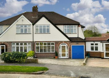 Thumbnail 4 bed semi-detached house for sale in Woodland Close, Ewell, Epsom