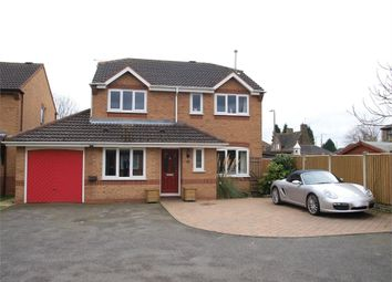 Thumbnail 4 bed detached house for sale in Aintree Close, Branston, Burton-On-Trent, Staffordshire