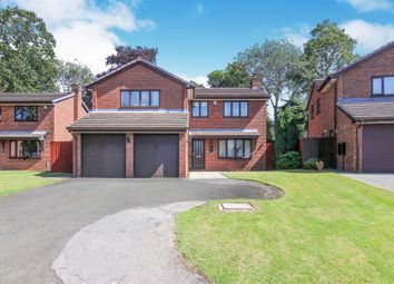 Thumbnail 4 bed detached house for sale in Willow Lea, Prenton