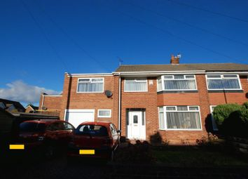 Thumbnail 5 bed semi-detached house for sale in High Ridge, Hazlerigg, Newcastle Upon Tyne
