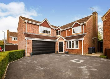 Thumbnail 5 bed detached house for sale in Thomas Mead, Pewsham, Chippenham