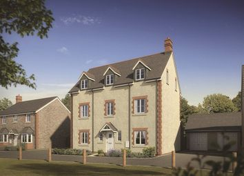 "Thumbnail 5 bedroom town house for sale in ""The Tresilian"" at Trem Y Coed, St. Fagans, Cardiff"
