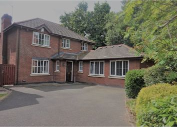 Thumbnail 4 bed detached house for sale in Rushbury Close, Solihull