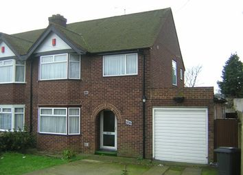 Thumbnail 3 bed semi-detached house to rent in London Road, Colnbrook