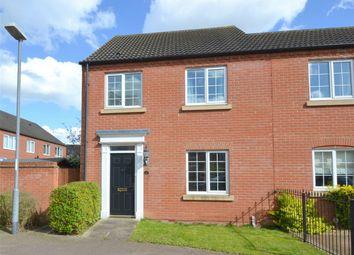 Thumbnail 3 bedroom semi-detached house for sale in Malden Way, Eynesbury Manor, St Neots, Cambridgeshire