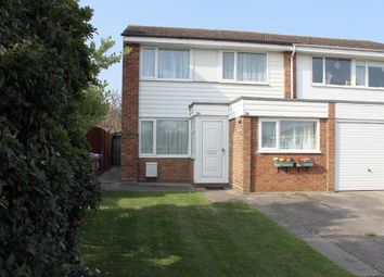 Thumbnail 3 bedroom end terrace house for sale in Lindsay Close, Royston