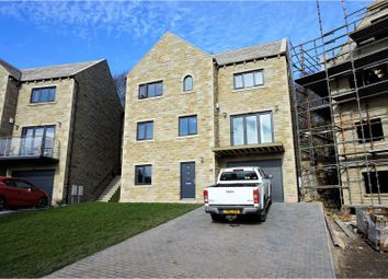 Thumbnail 4 bed detached house for sale in Clay House Court, Greetland, Halifax