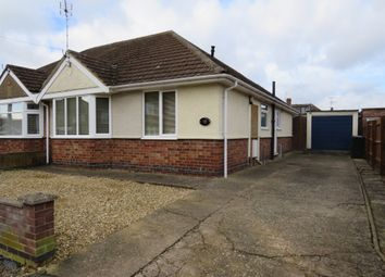 Thumbnail 2 bed semi-detached bungalow for sale in Stanfield Road, Duston, Northampton