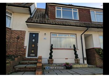 Thumbnail 2 bed terraced house to rent in Thornhill Rise, Brighton