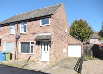 Thumbnail 3 bed semi-detached house for sale in Braithwait Close, Norwich