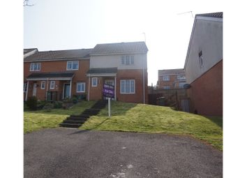 Thumbnail 3 bed end terrace house for sale in Cwrt Draw Llyn, Caerphilly