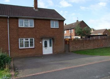 Thumbnail 3 bedroom town house for sale in Kingsley Road, Stretton, Burton-On-Trent