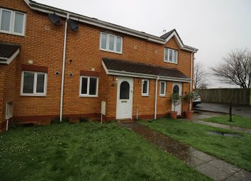 Thumbnail 2 bedroom terraced house to rent in Derwen View, Brackla, Bridgend.