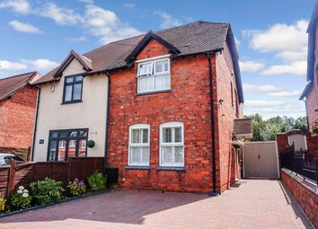 Thumbnail 2 bed semi-detached house for sale in Hardwick Road, Streetly, Sutton Coldfield