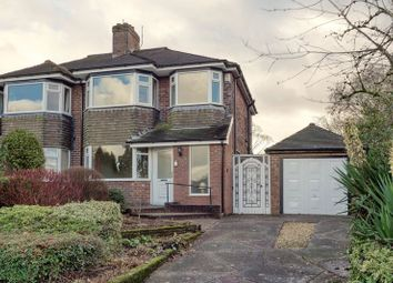 Thumbnail 3 bed semi-detached house for sale in Conway Road, Knypersley, Staffordshire