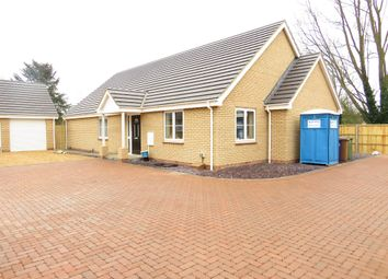 Thumbnail 3 bedroom detached bungalow for sale in Bell Gardens, Wimblington, March