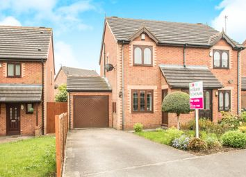 Thumbnail 2 bed semi-detached house for sale in Raylands Lane, Leeds