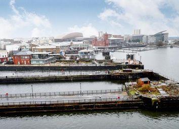 Thumbnail 2 bed flat for sale in Oceans Reach, Havannah Street, Cardiff Bay, Cardiff