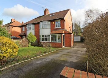 Thumbnail 5 bed semi-detached house for sale in Primley Park Crescent, Alwoodley, Leeds