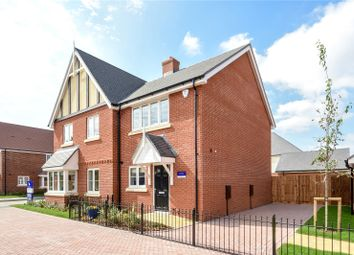 Thumbnail 2 bed semi-detached house for sale in St Georges Road, Badshot Lea, Farnham, Surrey