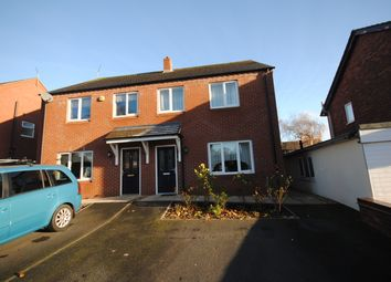 Thumbnail 3 bed semi-detached house to rent in Draycott Close, Market Drayton, Shropshire