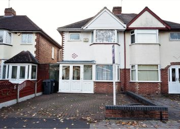 Thumbnail 3 bed semi-detached house for sale in Horrell Road, Birmingham