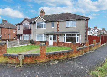 Thumbnail 4 bedroom semi-detached house for sale in Kingsley Avenue, Rugby