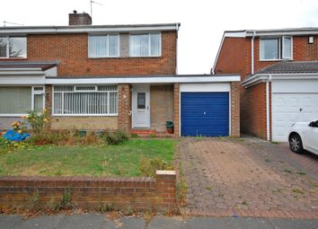 Thumbnail 3 bed semi-detached house for sale in Middleham Road, Newton Hall, Durham