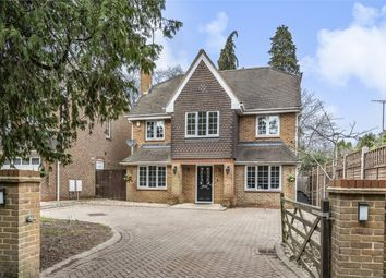 Thumbnail 6 bed detached house for sale in Portsmouth Road, Camberley, Surrey