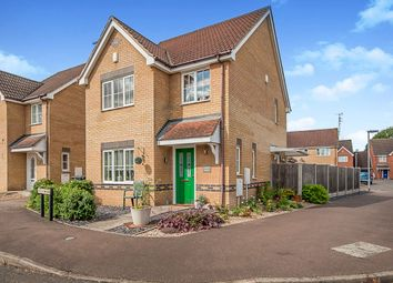 Thumbnail 3 bed detached house for sale in Baird Close, Yaxley, Peterborough