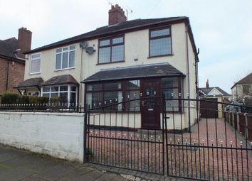 Thumbnail 3 bed semi-detached house for sale in Bluestone Avenue, Burslem, Stoke-On-Trent
