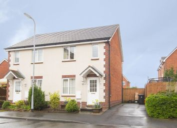 Thumbnail 2 bedroom semi-detached house for sale in White Avenue, St. Brides Wentlooge, Newport