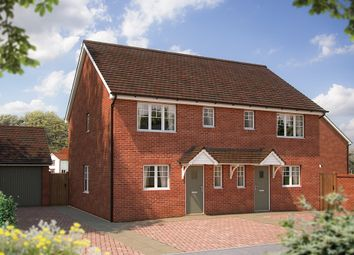 "Thumbnail 3 bed semi-detached house for sale in ""The Southwold"" at Coxwell Road, Faringdon"