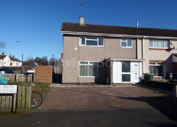 Thumbnail 3 bed end terrace house for sale in Liswerry Drive, Llanyravon, Cwmbran.