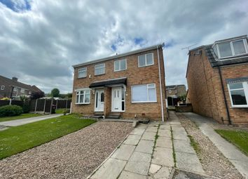 Thumbnail 3 bed semi-detached house to rent in Stubbin Close, Rawmarsh, Rotherham