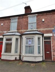 Thumbnail 2 bed terraced house to rent in Cecil Street, Lenton, Nottingham