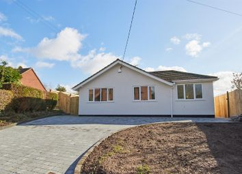 Thumbnail 3 bed detached bungalow for sale in Chapel Lane, Sharnford, Hinckley