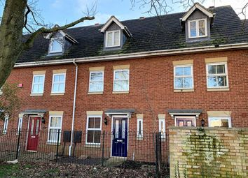 Thumbnail 3 bed town house for sale in Stratford Road, Wolverton, Milton Keynes