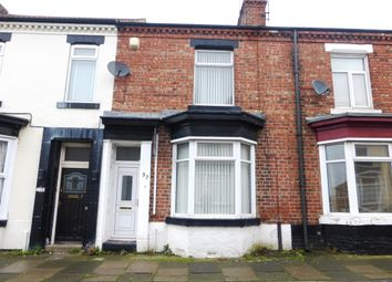 Thumbnail 2 bedroom terraced house for sale in Trent Street, Stockton-On-Tees