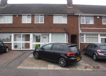 Thumbnail 3 bed terraced house to rent in Ringinglow Road, Birmingham