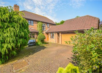 Thumbnail 4 bed detached house for sale in Beech Close, Pulloxhill