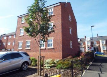 Thumbnail 3 bed flat to rent in Fleetwood Way, Gateshead
