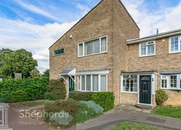 Thumbnail 3 bed end terrace house for sale in Fern Close, Broxbourne, Hertfordshire