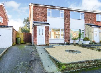Thumbnail 2 bed semi-detached house for sale in Beverley Drive, Broughton Astley, Leicester, Leicestershire