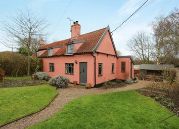 Thumbnail 2 bed semi-detached house for sale in Fenn Street, Winston, Stowmarket