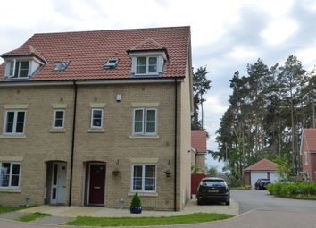 Thumbnail 4 bed semi-detached house to rent in Heathland Way, Mildenhall, Bury St. Edmunds