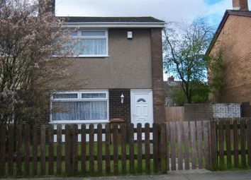 Thumbnail 2 bed semi-detached house to rent in Pollitt Crescent, Clock Face, St. Helens