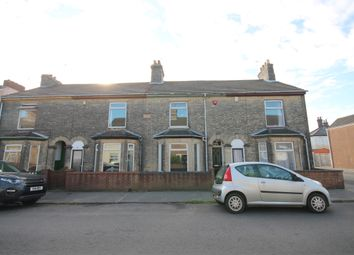 Thumbnail 3 bed terraced house to rent in Salisbury Road, Lowestoft